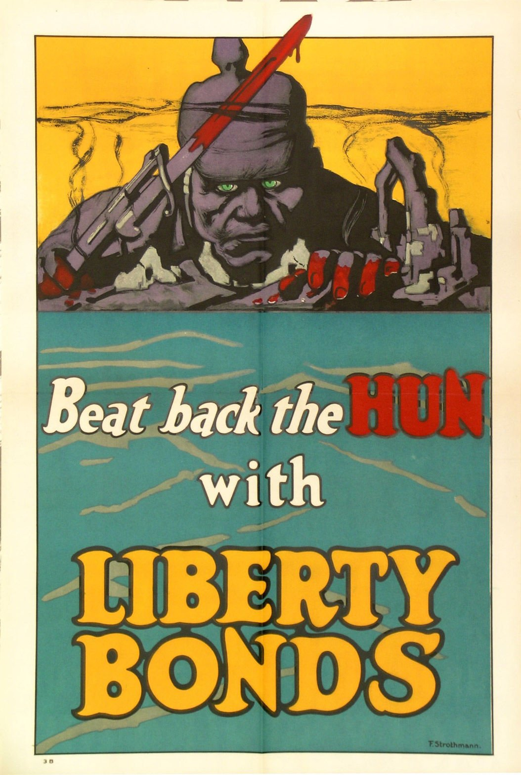Liberty bonds poster