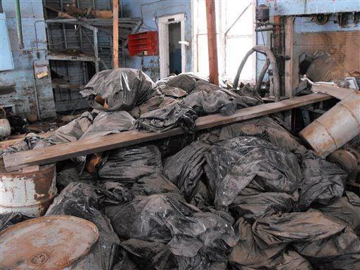 Oil Waste Dumping
