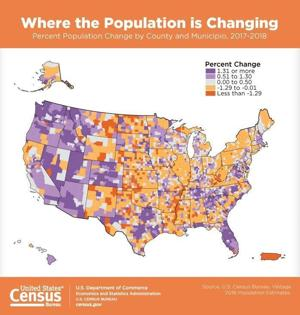Oil boom, Fargo area drive population growth in North Dakota