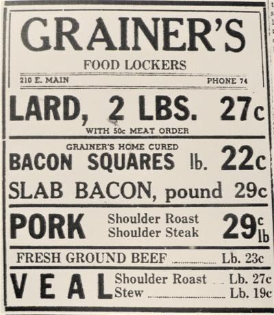 Grainer's, 1944