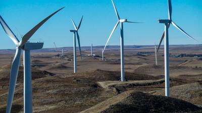 Thunder Spirit Wind farm