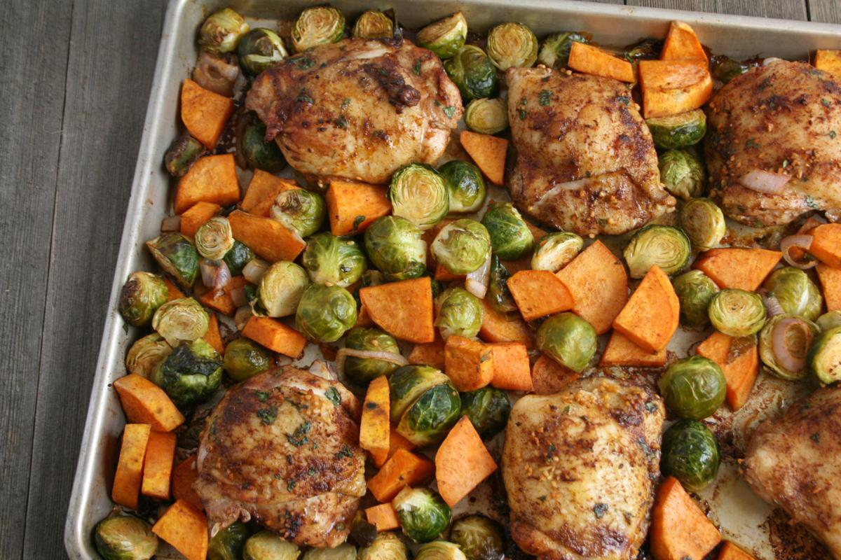 One-pan meal