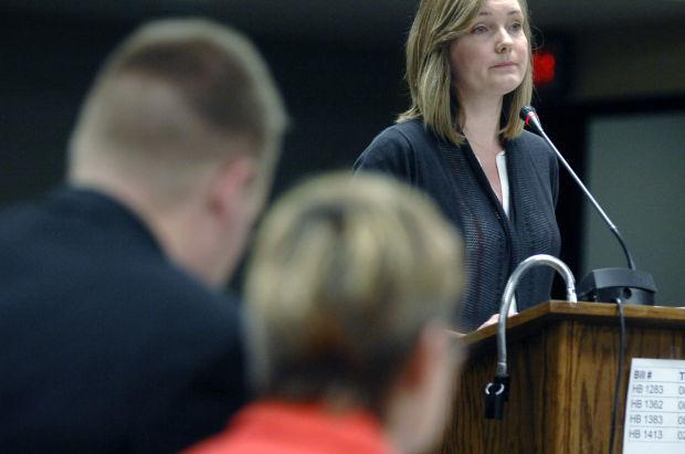 Renae Ahlberg testifies