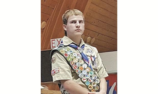 Cameron Backer Eagle Scout