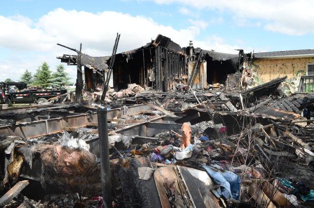 Rural Bismarck house fire 1