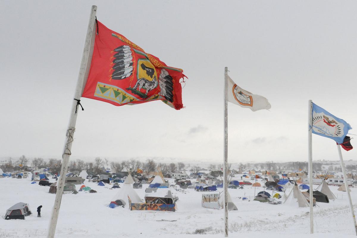 The Oceti Sakowin camp