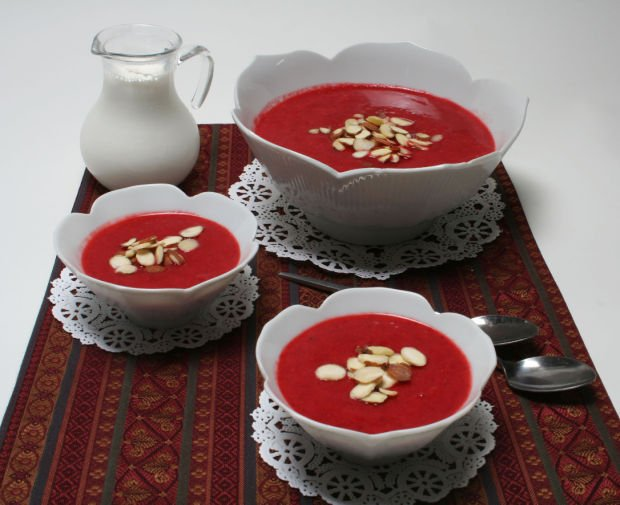 Red Berry Pudding
