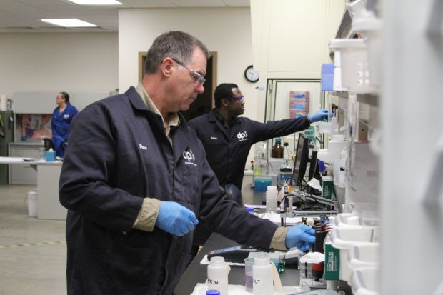 Lab chemists play large role in Dakota Prairie Refining | Bakken ...