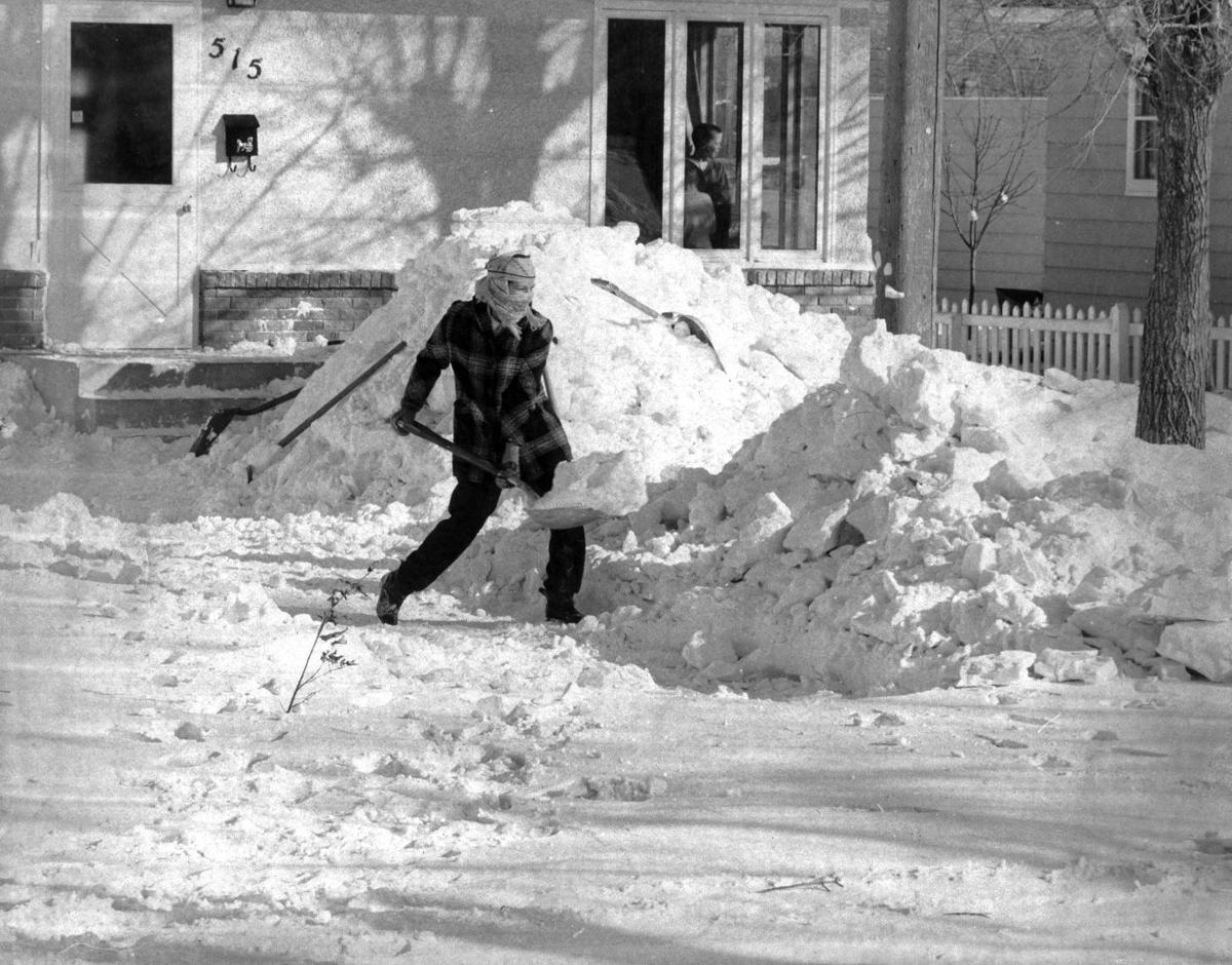 north dakota blizzard 1966