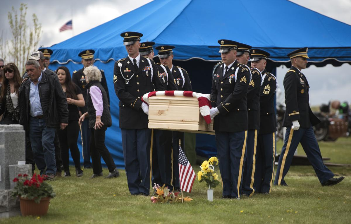 Memorial Day, Army Pvt. William A. Boegli Funeral Service