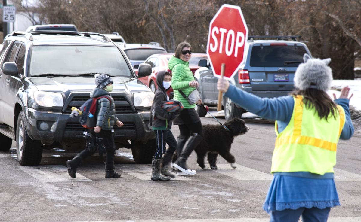 Crossing Guard Kathy Erickson