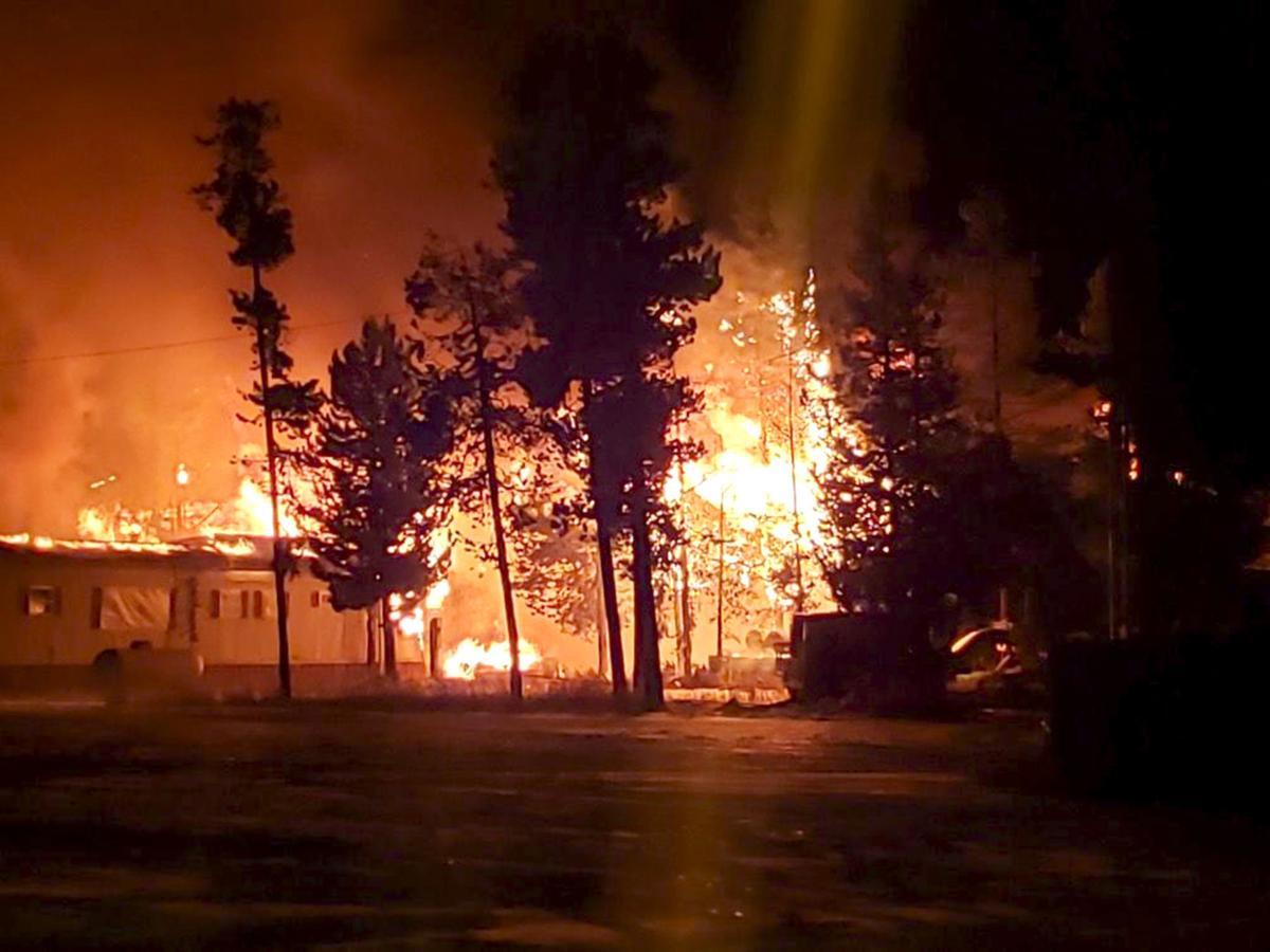 West Yellowstone Blaze, Contributed