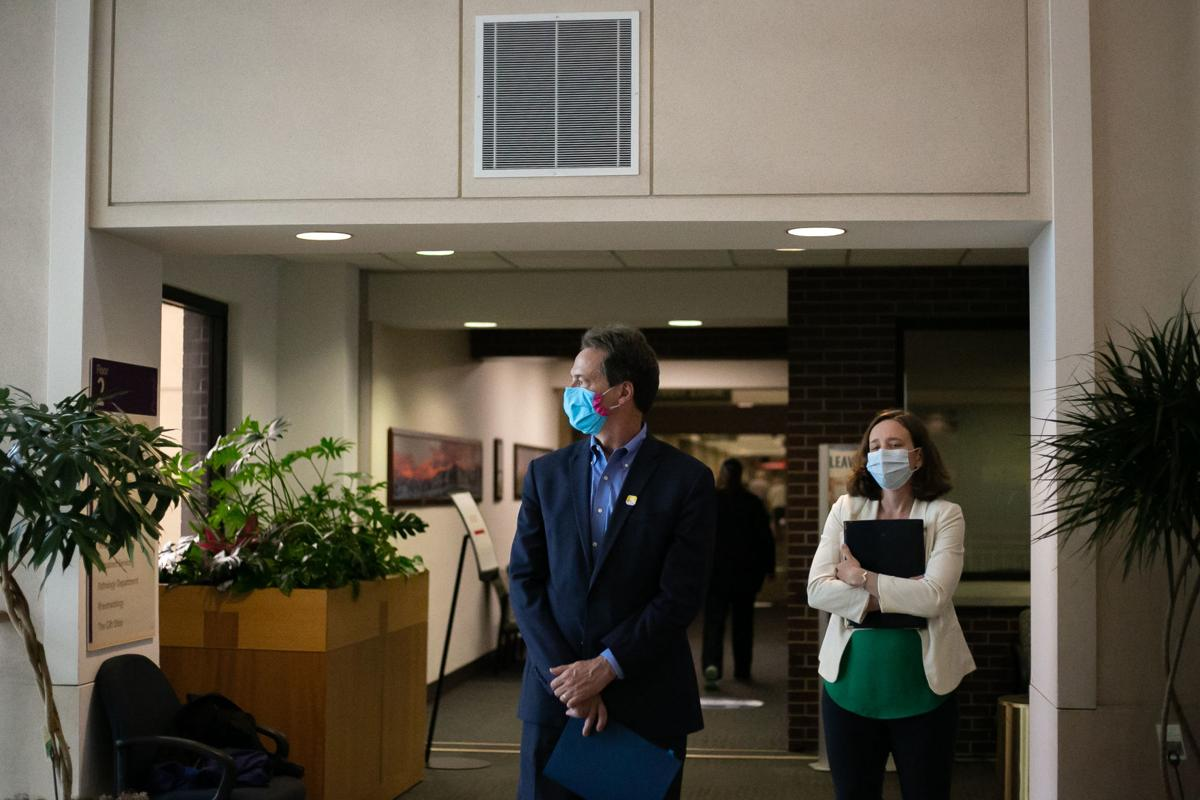 Governor Bullock Speaks at Bozeman Health Deaconess Hospital