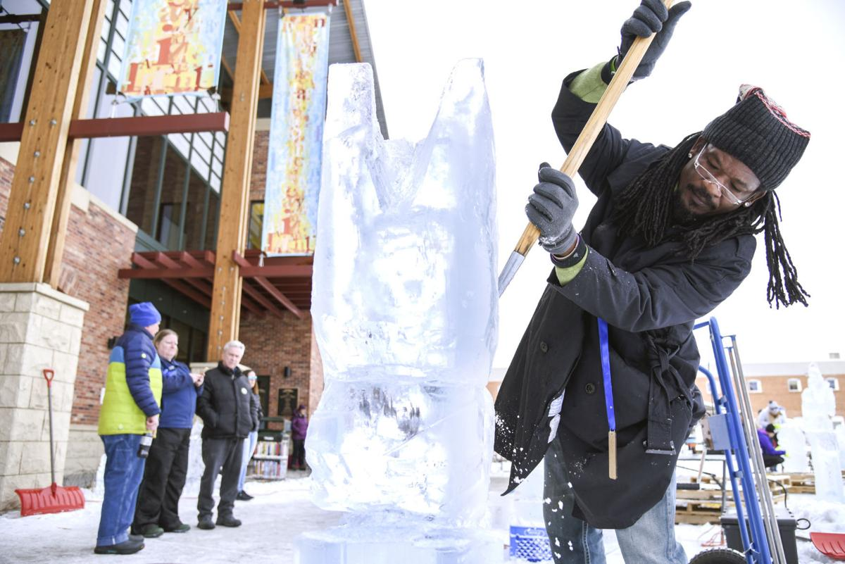 Sweet Pea Ice Sculpture Competition