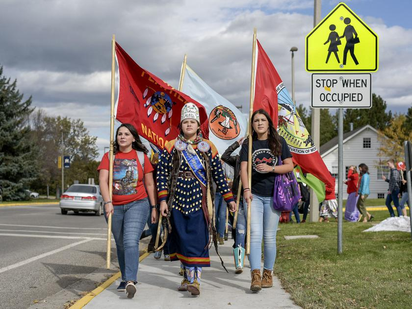 Becoming a tradition: Montana State celebrates as Indigenous Peoples' Day spreads across U.S.