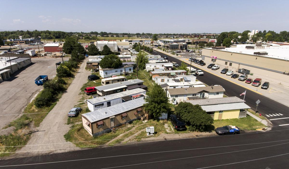 Tax records show a loss of mobile homes in Gallatin County