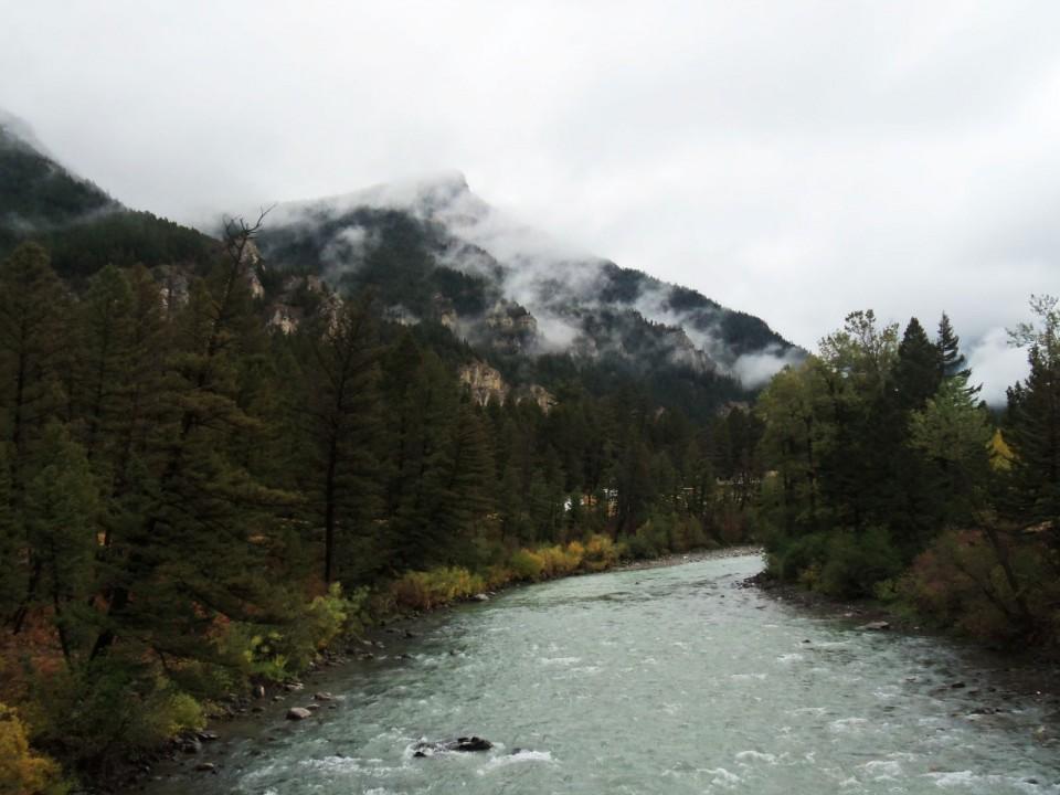 Fall on Squaw Creek Road