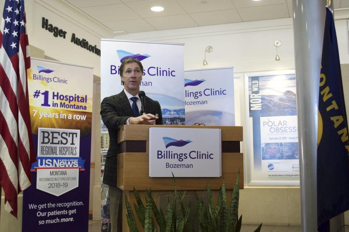 Billings Clinic Foundation President Jim Duncan