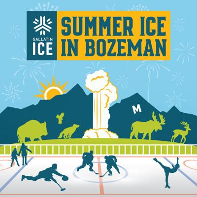Summer Ice in Bozeman