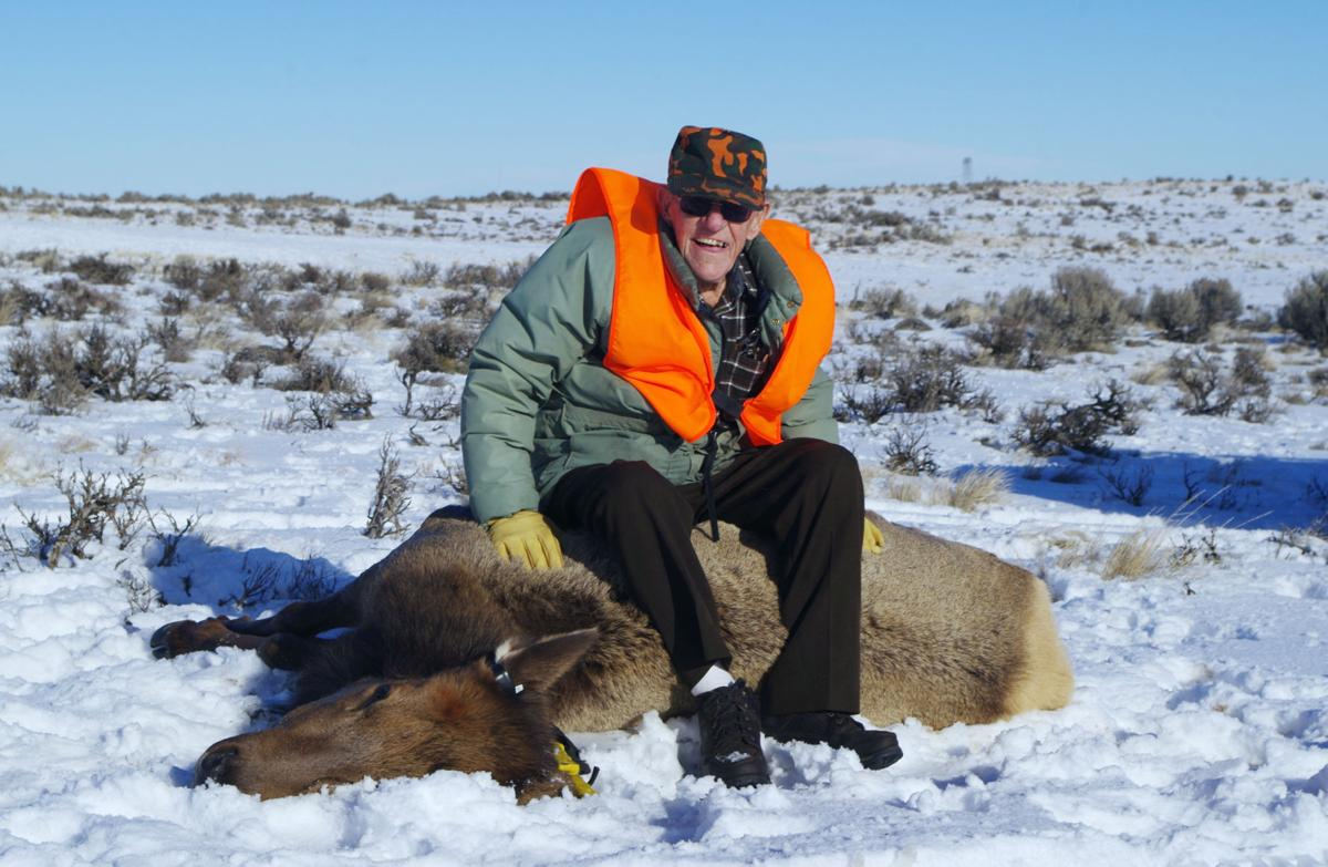 Lifelong hunter achieves dream of shooting an elk at the age 100