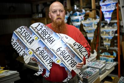 EDP, License Plate Artist