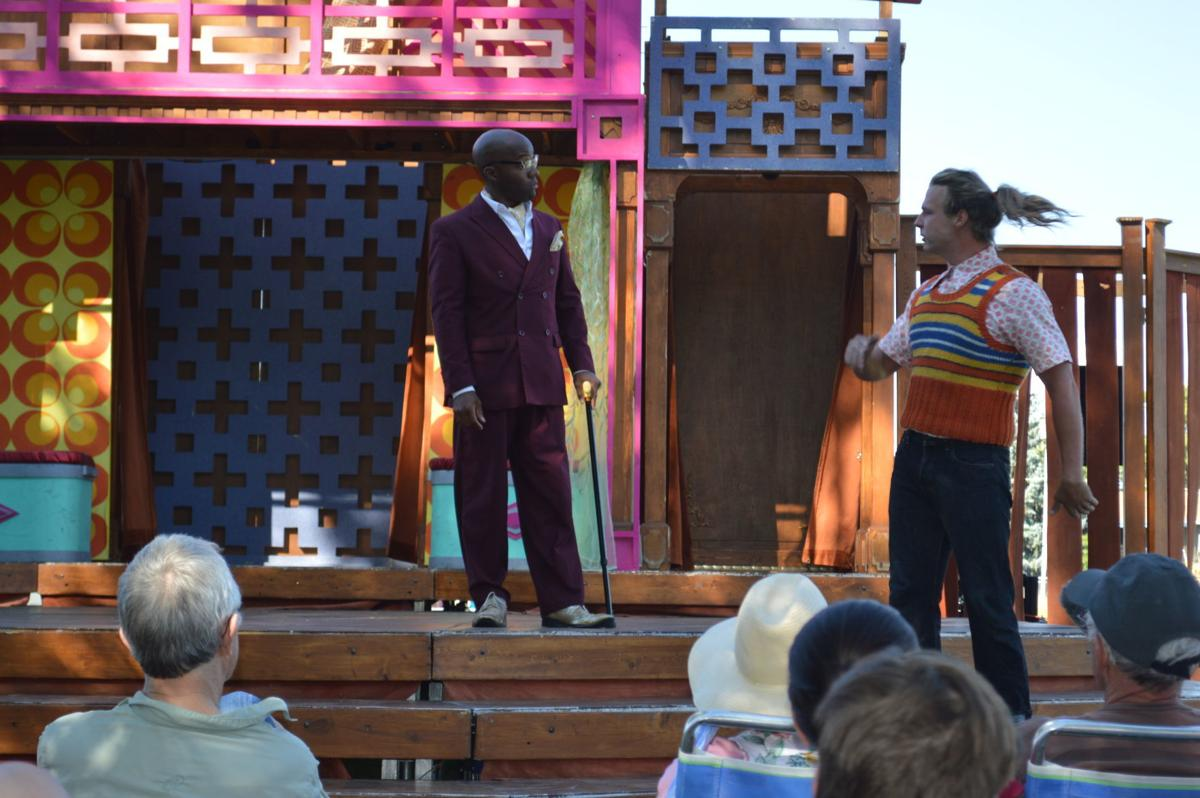 Shakespeare in the Parks puts on 'Merry Wives of Windsor' in