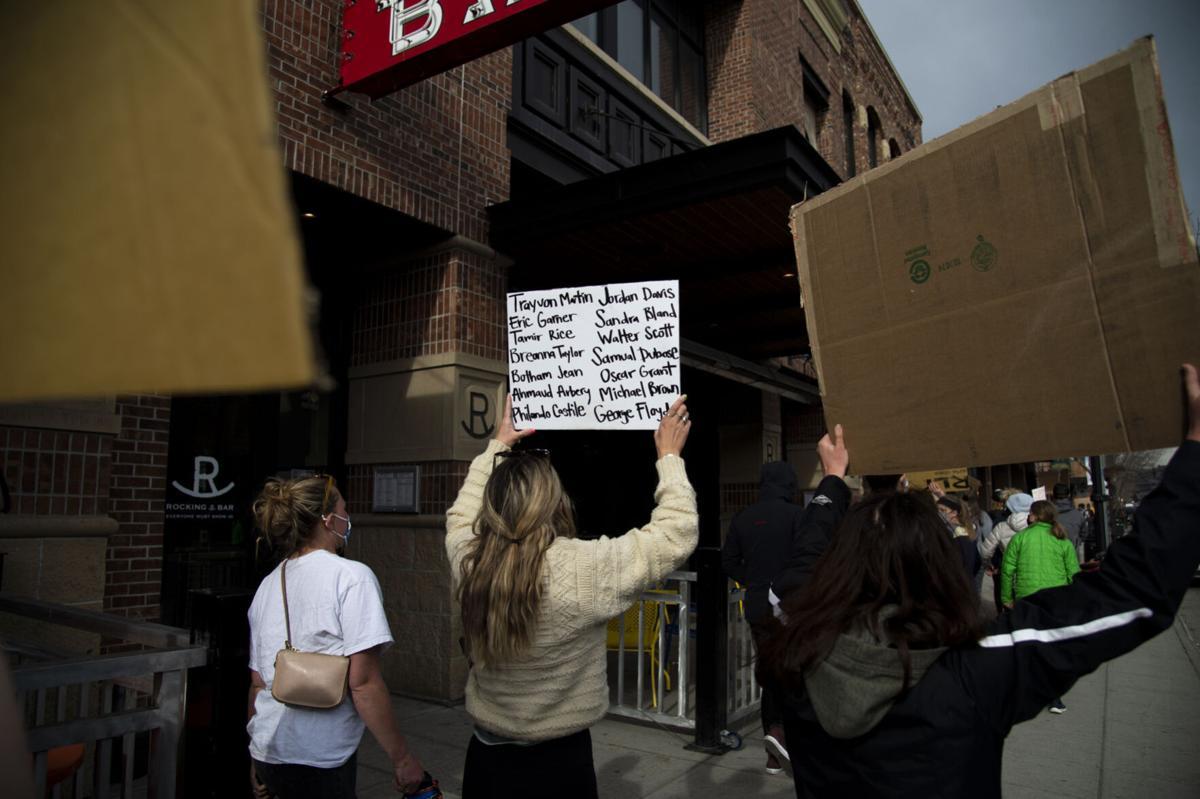 Vigil for Daunte Wright, Adam Toledo, BLM