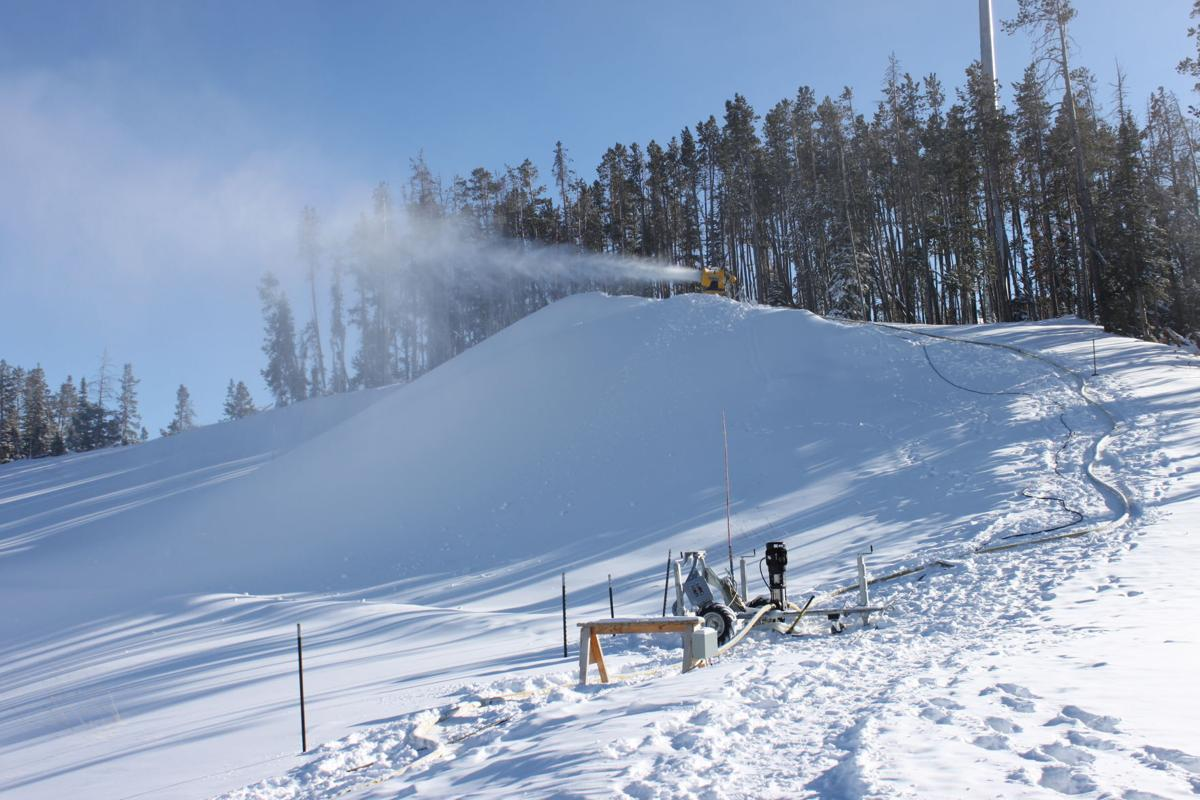 Yellowstone Club snowmaking