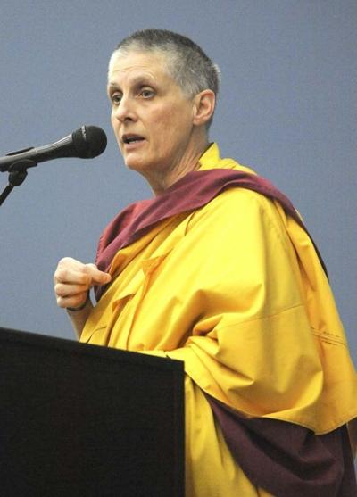 Buddhist nun Gen Kelsang Varahi