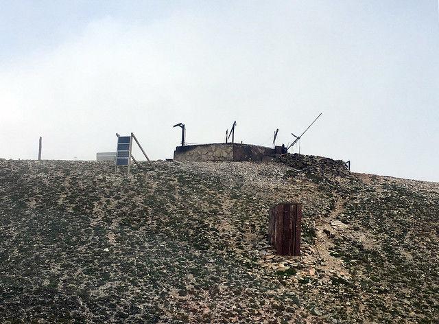 Mount Holmes lookout burned.jpg