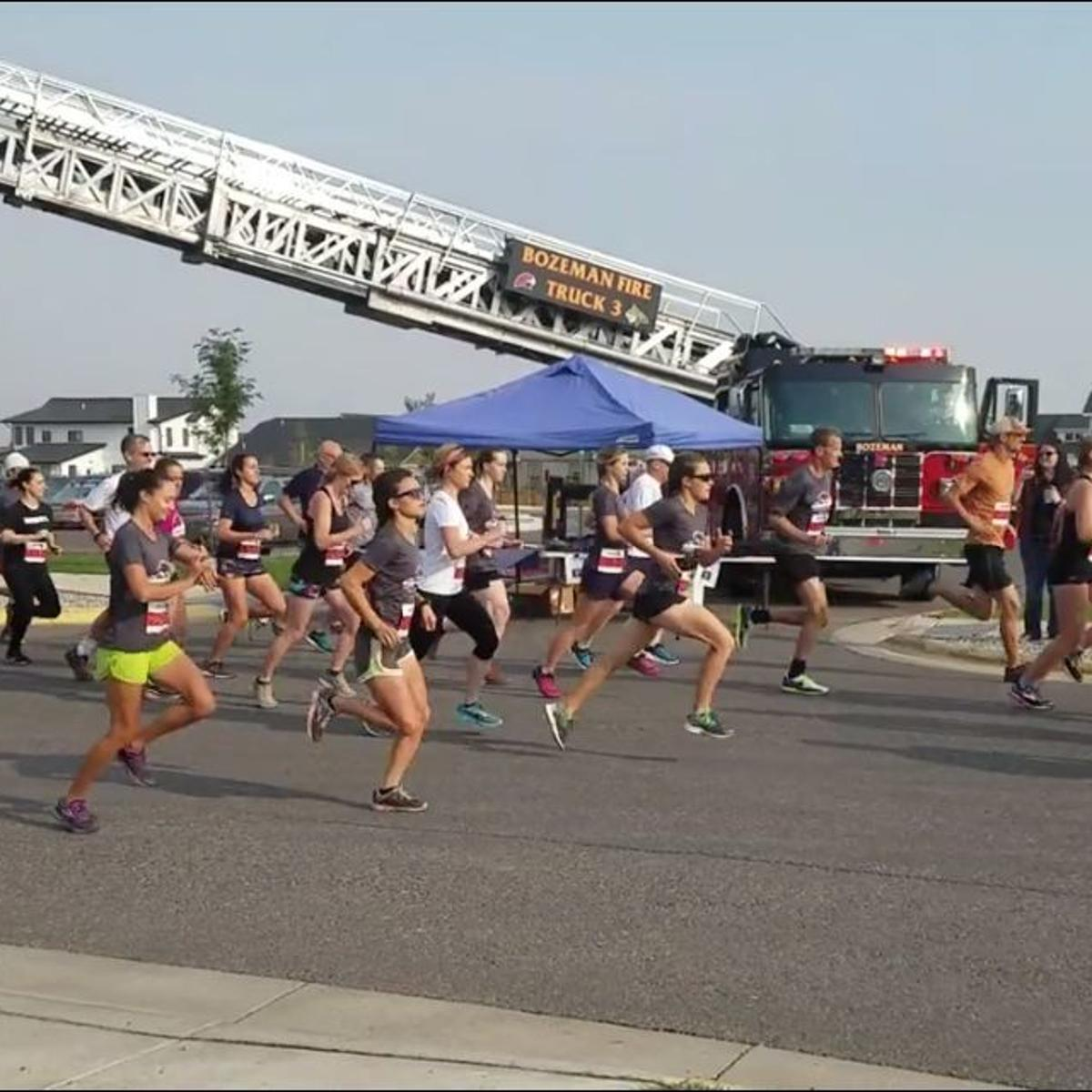 Second annual firefighters 5k to benefit Bozeman family of teen with