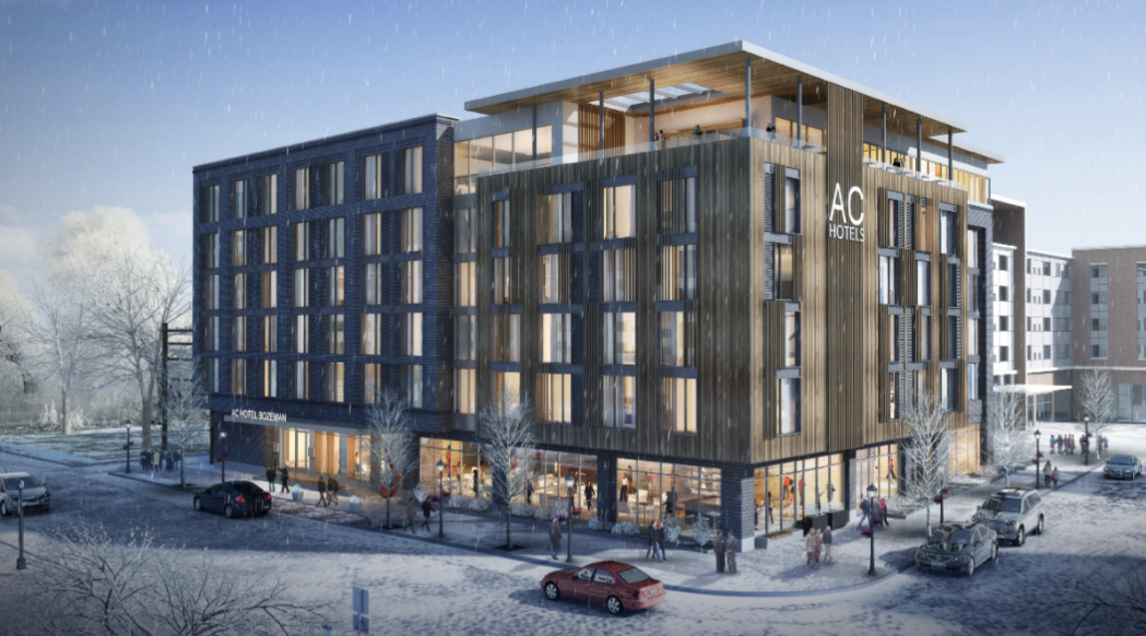 AC Hotel by Marriot in downtown Bozeman