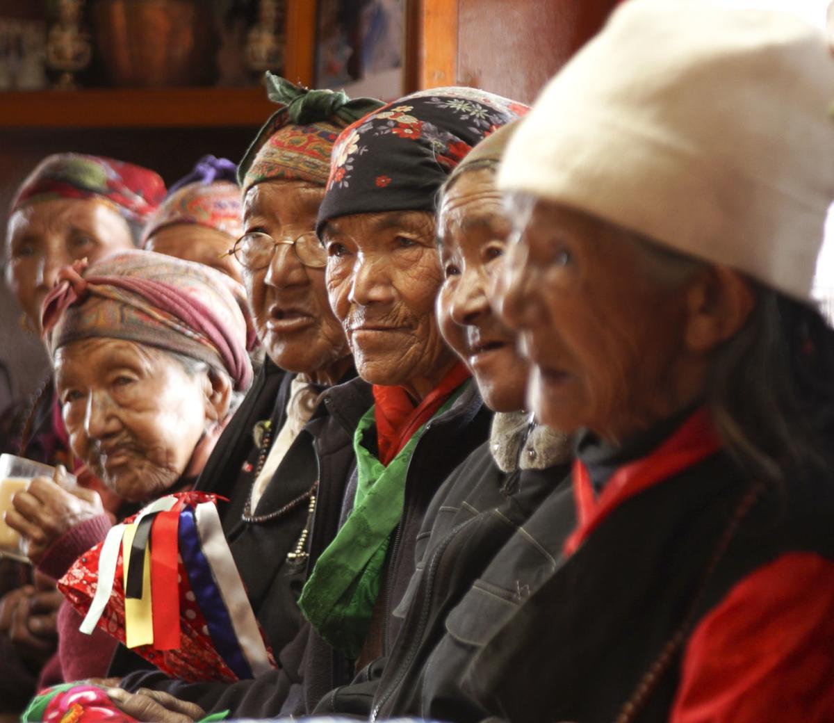 Phortse elders gather for celebration