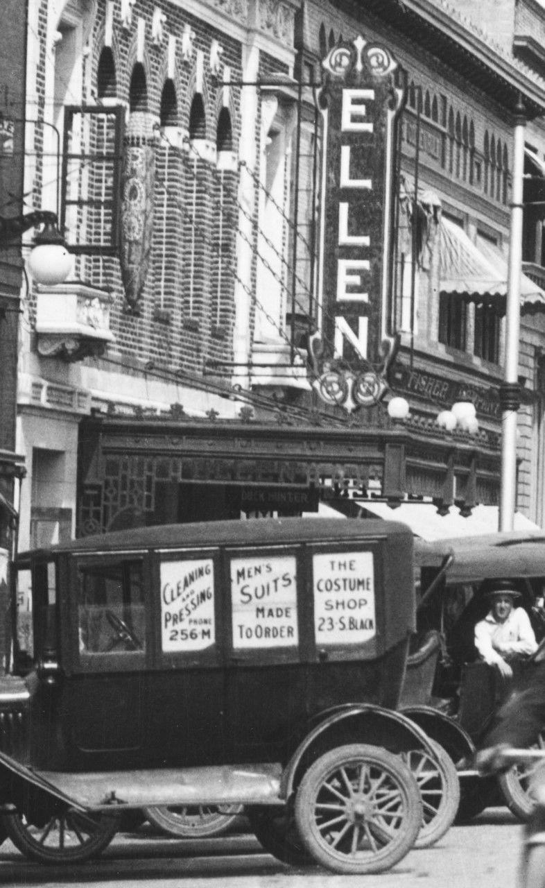 Ellen blade sign, 1922