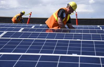 Solar Panels Sacajawea Middle School