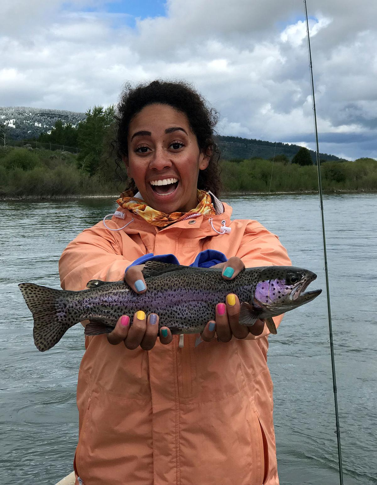 Youth trout girl