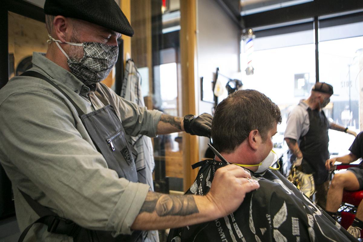 Barber Shops Reopen