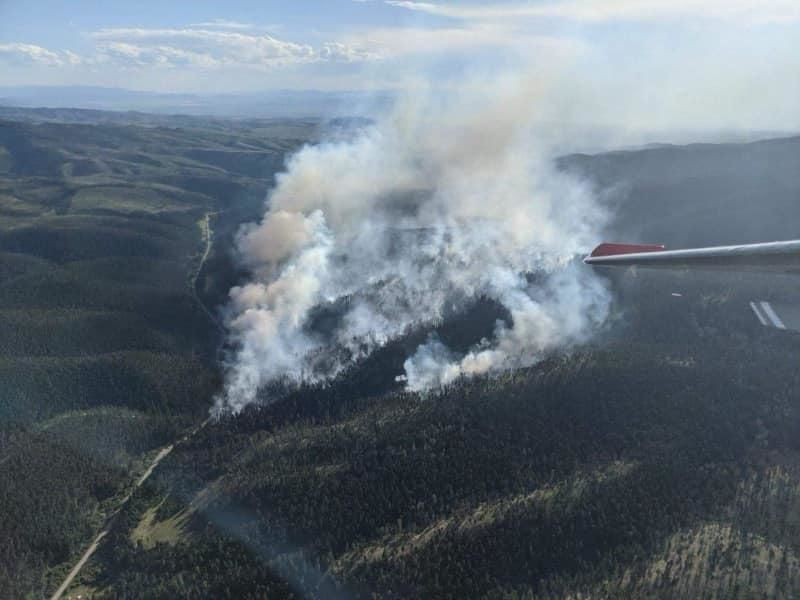 Deep Creek fire InciWeb