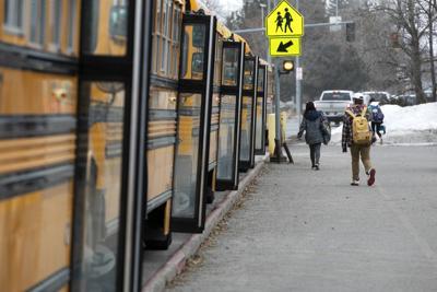 Bozeman High School lets out