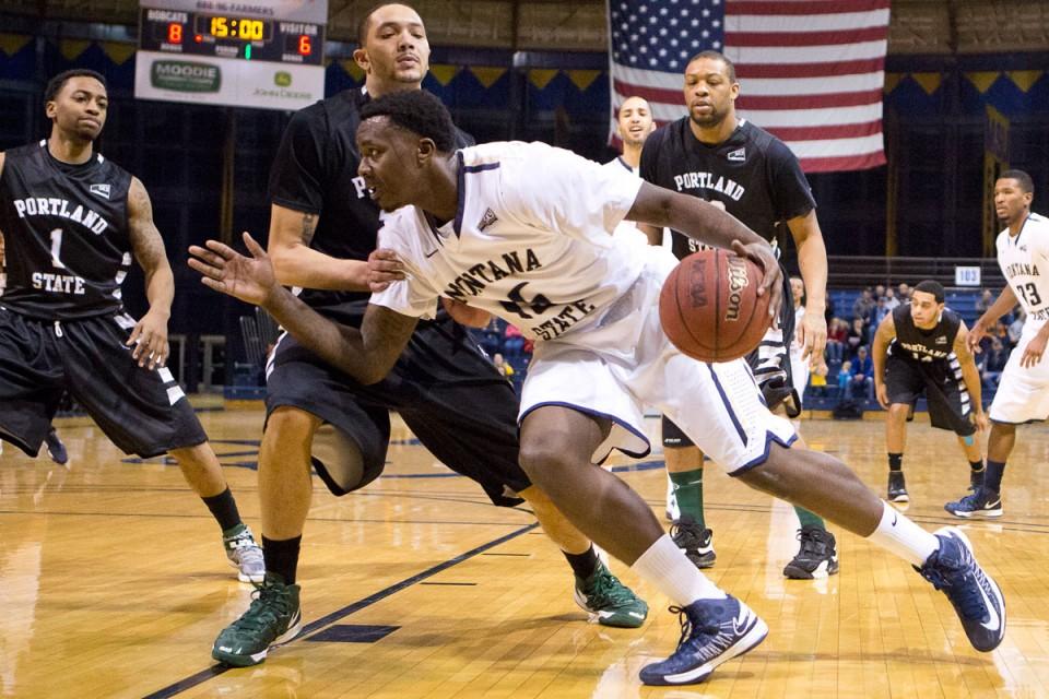 Basketball - Montana State vs Portland State