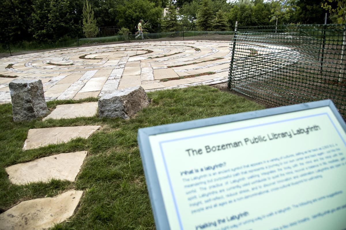 Bozeman Public Library Labyrinth