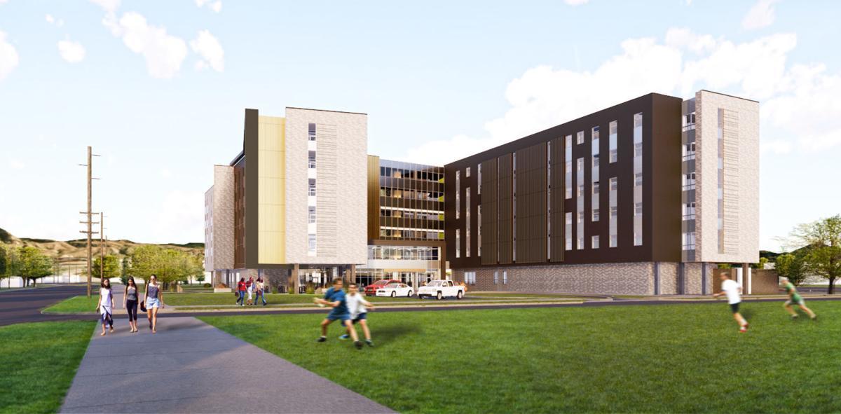 new dorm rendering