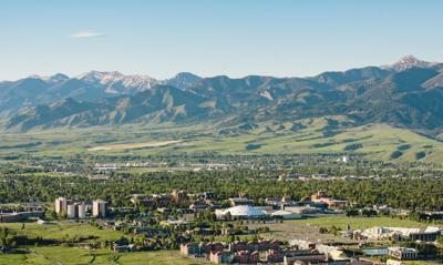 Montana State University Campus Aerials