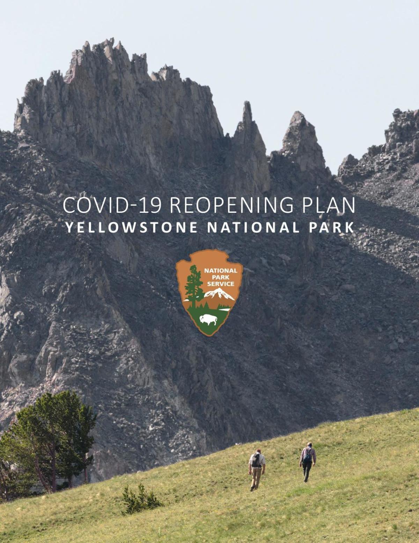 Yellowstone reopening plan