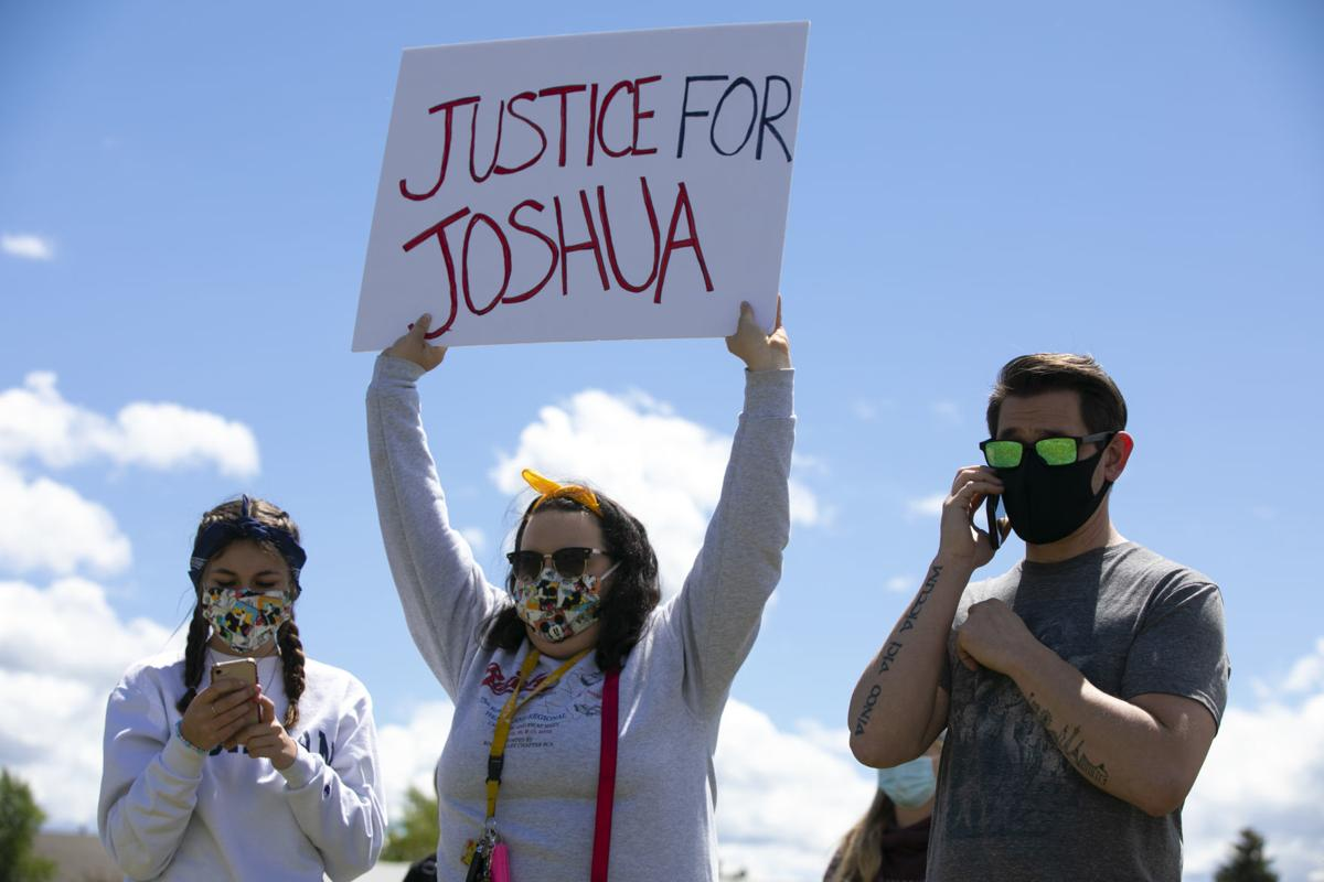 Joshua Blair Protest