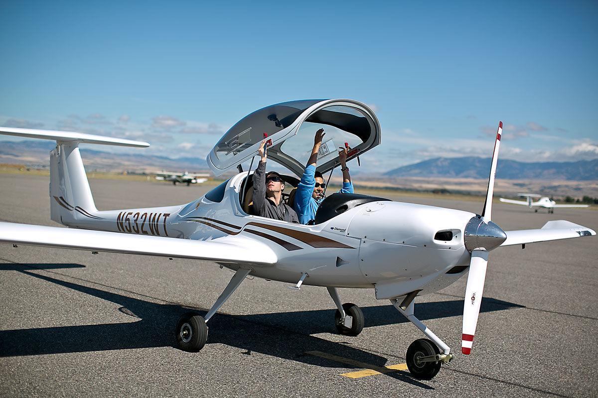 Eagle Mount Cancer Survivors Flying School