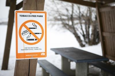 Tobacco-free park