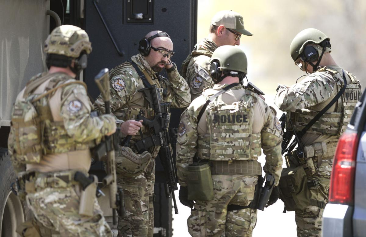 Armed Hostage Standoff