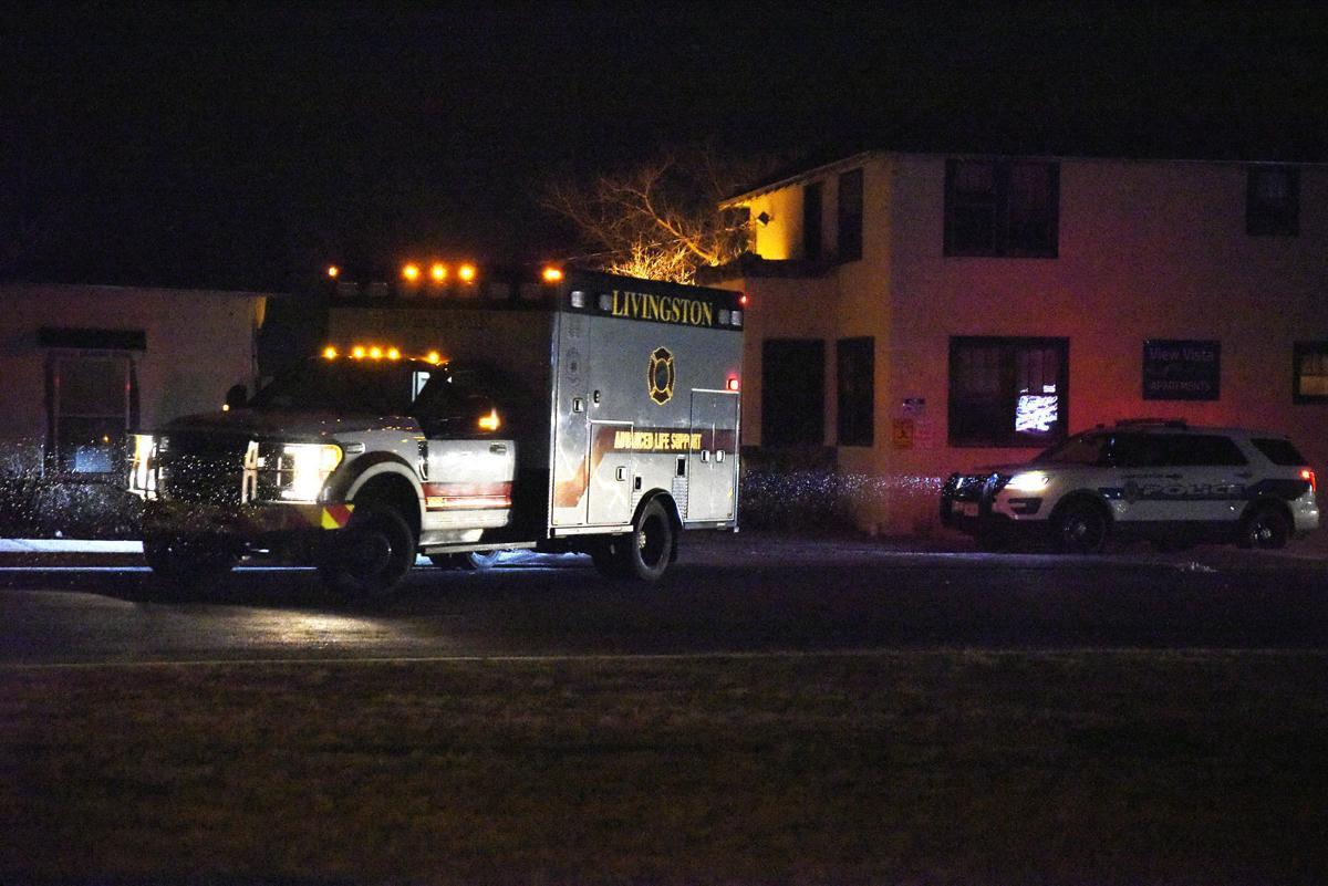 Ambulance — Livingston standoff