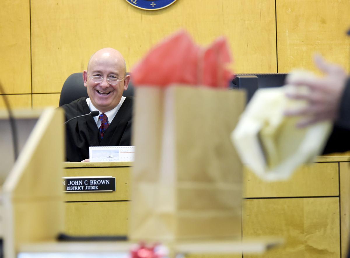 Judge John Brown Treatment Court Christmas